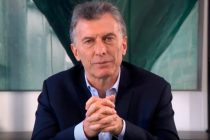 Macri llamó a «llevar tranquilidad a los argentinos»