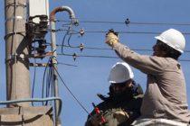 Corte programado de energía eléctrica en Sierra Chica