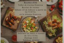 Lanzan un nuevo taller de cocina Francesa