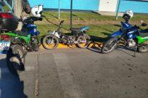 Aprehendieron a un joven por irregularidades en su moto