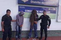 Dos hombres fueron aprehendidos al encontrarse ambos en estado de ebriedad.