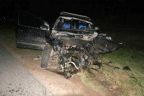 Lobos: Choque fatal entre camión y automóvil, un muerto