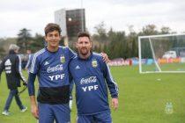 Mateo Clemente será sparring de la Selección Argentina en la Copa América