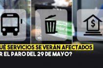 Uno por uno, quienes paran el 29 de mayo en Olavarría