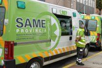 SAME: atención médica las 24hs a partir del llamado al 107