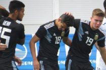 Con de la Vega como titular, Argentina ganó 3 a 1 el último amistoso antes del mundial Sub 20.