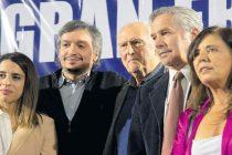 Máximo Kirchner, junto a Pino Solanas: «El FMI y los mercados tendrán que esperar»