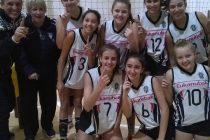 El equipo Sub13 de vóley del Club Estudiantes fue el ganador de la primera etapa de LIPROBO