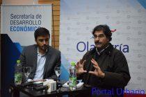 Galli y Sarquis presentaron Agro2023 en el Centro de Convenciones