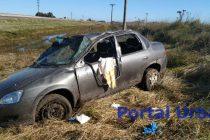Autovia 226: Volcó un automóvil con una Olavarriense involucrada