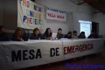 La mesa de emergencia emitió un comunicado luego de la conferencia de Galli