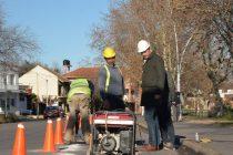 Se iniciaron obras para la construcción de nuevos carriles para bicicletas en el Parque Mitre