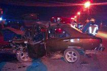 Ruta 205 :  Un choque frontal entre dos vehículos deja el saldo de un muerto y varios heridos