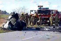Fatal Accidente cerca de Ayacucho con Olavarriense involucrado