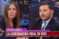 Vidal a Brancatelli: «No soy Macri, soy Vidal y al que no le gusta que se la banque»