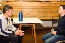 Aguilera continúa realizando recorridas: visitó el Club Luján