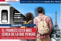 Se encuentra abierta la inscripción para los nuevos cursos de idioma Francés en la Alianza Francesa