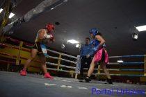 Lorena Agourtborde triunfó ante su rival en el cuarto round