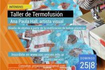 Ciclo de talleres de artes visuales y oficios en el CCU