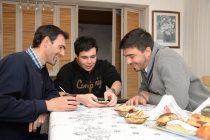 Galli conoció a Tadeo el joven que creó la app ayumapp