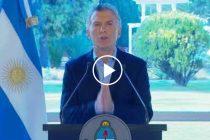 Mauricio Macri anunció que eliminó el IVA para alimentos básicos hasta fin de año