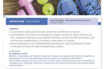 El Dr. Lanari realizará una charla en el Salón Rivadavia organizada por osde