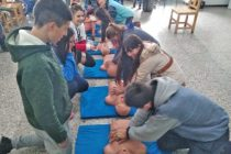 Se realizó una capacitación sobre RCP en Paraje Las Piedritas