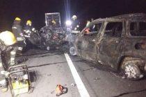 Accidente en Ruta 3: Identificaron a los  5 fallecidos