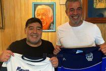 Diego Armando Maradona es el nuevo DT de Gimnasia y Esgrima La Plata