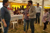 Nicolás Marinangeli estuvo presente en «Recalde Crece»