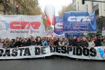 Hoy ATE y la CTA Autónoma realizarán un paro nacional con marchas y protestas en todo el país