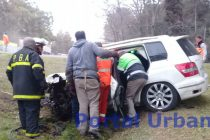 Ruta 3 Azul: Impresionante accidente con varios heridos