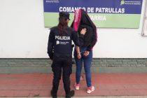 Detuvieron a una joven de 18 años tras amenazar de muerte a su madre
