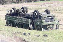 Grave accidente en cercanías a Cacharí sobre Ruta Nacional 3
