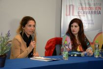 Libros en Olavarría: El lunes fue de las mujeres