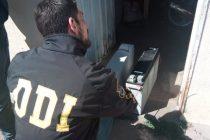 Allanamiento en B° Facundo Quiroga: encontraron elementos que habían sido robados de una antena de telefonía
