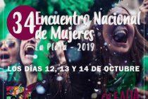 Se realizará el 34° Encuentro Nacional de Mujeres en La Plata