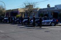 Realizaron varios allanamientos en el Barrio Coronel Dorrego