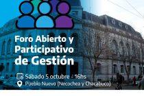Aguilera lanza el primer «foro abierto y participativo de gestión»