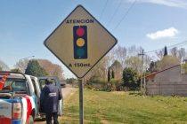 En la ciudad y localidades se realizaron trabajos de mantenimiento vial