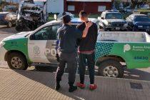 El detenido por el robo en Sierras Bayas fue trasladado a Tapalqué