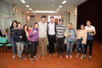 Semana de las Juventudes: los jóvenes recibieron su tarjeta de descuentos