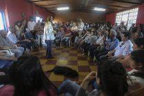 Vidal visitó Ramallo y dialogó con vecinos beneficiados por una obra vial