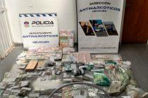 Tras once meses de investigación desbaratan banda que comercializaba droga en Neuquén y Olavarría