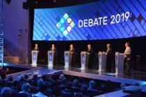 Primer debate presidencial de cara a las elecciones de octubre