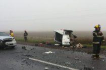 Ruta 205: Cuádruple choque fatal  con dos fallecidos