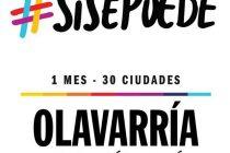 Macri llega a Olavarría con la marcha del «Sí se puede»
