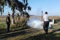 Agentes de la Unidad n°17 recibieron capacitación sobre lucha contra incendios