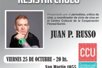 Se proyectará el documental «Eduardo Pavlosky, resistir cholo» en el Centro Cultural Universitario