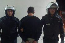 Evadió un control policial, encerró al dueño de un local en la cámara frigorífica y fue aprehendido